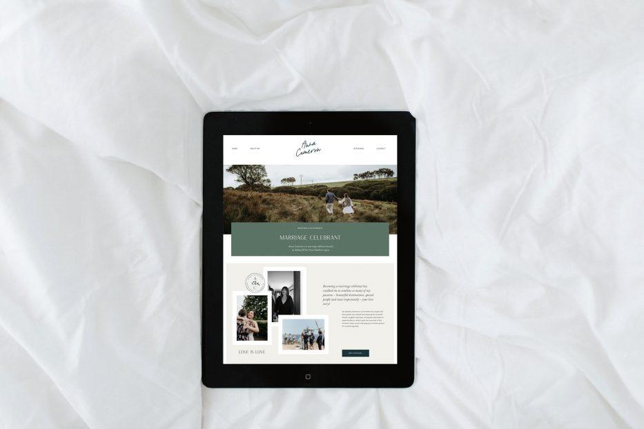 Anna Cameron website